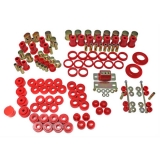1968-1972 Chevelle Energy Suspension Poly Graphite Hyperflex Suspension Kit, Red: 3-18113R