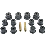 1967-1969 Camaro Poly Graphite Rear Shackle Bushing Kit Mono Leaf: 3-2101G