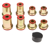 1967-1972 Chevelle Poly Graphite Control Arm Bushing Kit Red All Round