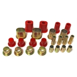 1967-1972 Chevelle Poly Graphite Control Arm Bushing Kit Red Oval: 3-3172R