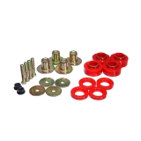 1968-1972 Chevelle Energy Suspension Body Mount Bushing Supplement Kit Red: 3-4171R