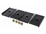 1967-1969 Camaro Energy Suspension Leaf Spring Pad Set Multi Leaf: 3-6112G