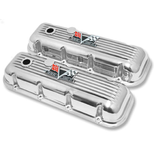 1965-1987 El Camino Big Block Custom Finned Aluminum 396 Valve Covers