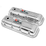 1965-1972 El Camino Big Block Custom Finned Aluminum 396 Valve Covers