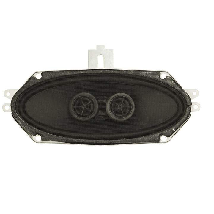 1968-1969 Chevelle Dash Speaker Dual Voice Coil 140 Watt No Air Conditioning: 4001
