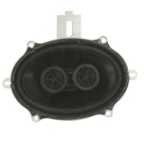 1966-1967 Chevelle Dash Speaker Dual Voice Coil 140 Watt With Air Conditioning
