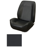 1967-1968 Camaro Coupe Standard TMI Sport 2 Front & Rear Seat Upholstery Kit, Black