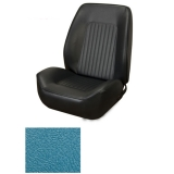 1967-1968 Camaro Coupe Standard TMI Sport 2 Front & Rear Seat Upholstery Kit, Bright Blue