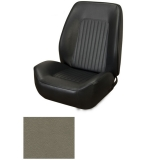 1967-1968 Camaro Coupe Standard TMI Sport 2 Front & Rear Seat Upholstery Kit, Ivy/Green Gold