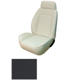 1969 Camaro Coupe Fold Down Standard TMI Sport 2 Front & Rear Seat Upholstery Kit, Black