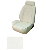 1969 Camaro Coupe Fold Down Standard TMI Sport 2 Front & Rear Seat Upholstery Kit, Ivory/Bright White