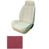1969 Camaro Coupe Fold Down Standard TMI Sport 2 Front & Rear Seat Upholstery Kit, Red