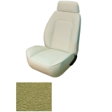 1969 Camaro Coupe Fold Down Standard TMI Sport 2 Front & Rear Seat Upholstery Kit, Medium Green