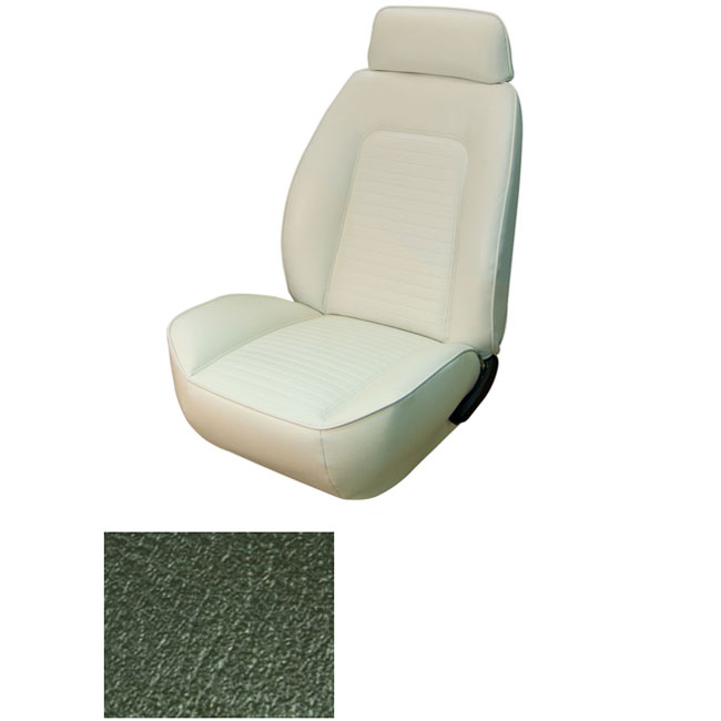 1969 Camaro Coupe Standard Tmi Sport 2 Front Rear Seat Upholstery