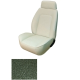 1969 Camaro Coupe Fold Down Standard TMI Sport 2 Front & Rear Seat Upholstery Kit, Dark Green