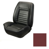1968 Camaro Coupe Fold Down Deluxe TMI Sport 2 Seat Upholstery Front & Rear Kit, Red