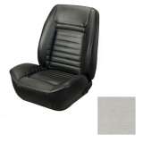 1968 Camaro Coupe Fold Down Deluxe TMI Sport 2 Front & Rear Seat Upholstery Kit, Parchment Pearl Metallic