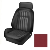 1969 Camaro Coupe Deluxe Comfortweave TMI Sport 2 Seat Upholstery Front & Rear Kit, Red