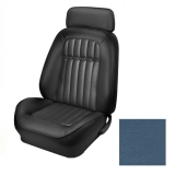 1969 Camaro Coupe Fold Down Deluxe Comfortweave TMI Sport 2 Front & Rear Seat Upholstery Kit, Dark Blue
