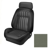 1969 Camaro Convertible Deluxe TMI Sport 2 Front & Rear Seat Upholstery Kit, Medium Green
