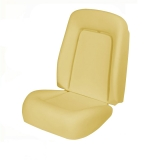 1967-1968 Camaro Bucket Seat Foam with Listing Wire Standard Interior