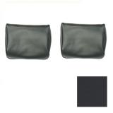 1968-1972 El Camino TMI Bench Seat Headrests Black: 43-82708-2295