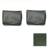 1969-1970 Chevelle TMI Bench Seat Headrests Dark Green