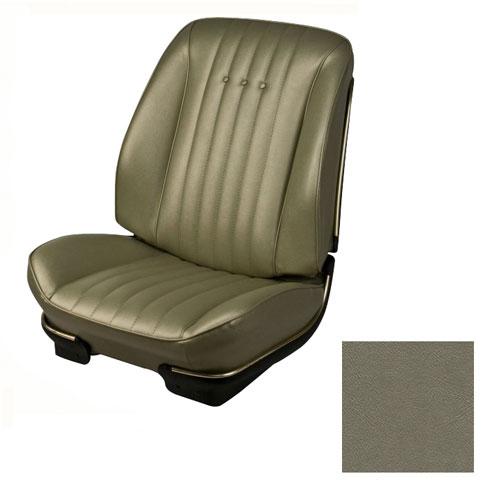1968 El Camino Tmi Sport Seats Front Upholstery Buckets Gold