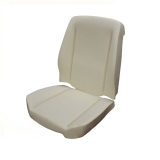 TMI Sport Seat Foam, 1966-1972 Chevelle Bucket: 43-8286