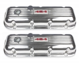 1964-1977 El Camino Big Block Custom Finned Aluminum 454 Valve Covers