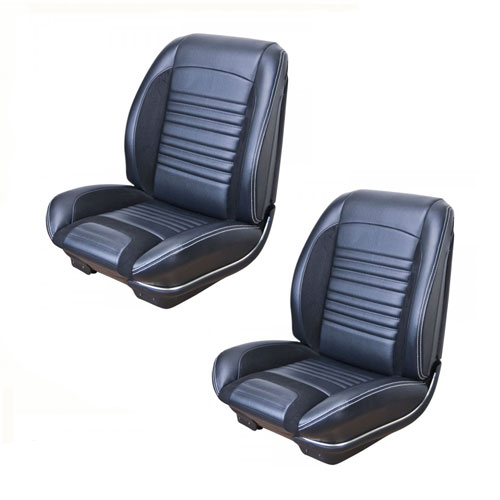 1967 El Camino Tmi Sport R Seat Upholstery Front Buckets Only