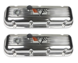 1964-1977 El Camino Big Block 572 Turbo Jet Finned Aluminum Valve Covers