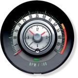1968 Camaro Tic Toc Tachometer 5500 Rpm Redline