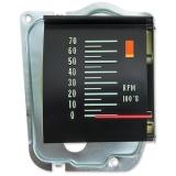 1968 El Camino Tachometer With 5500 RPM Redline