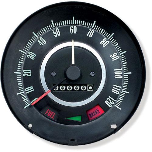 1967 Camaro Speedometer With Speed Warning