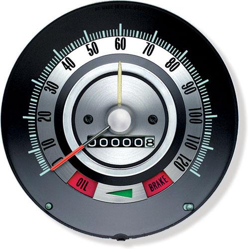 1968 Camaro Speedometer With Speed Warning