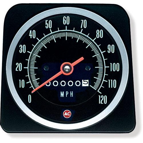 1969 Camaro Speedometer 120 Mph