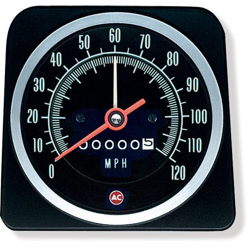 1969 Camaro Speedometer 120 Mph With Speed Warning