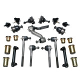 1968-1974 Chevy 2 Nova Energy Suspension Poly Graphite Complete Front Suspension Kit Power Steering
