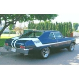 1970 Nova Yenko Deuce Sprint Stripe Kit Black