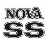 1975-1976 Nova SS Decal Kit Black