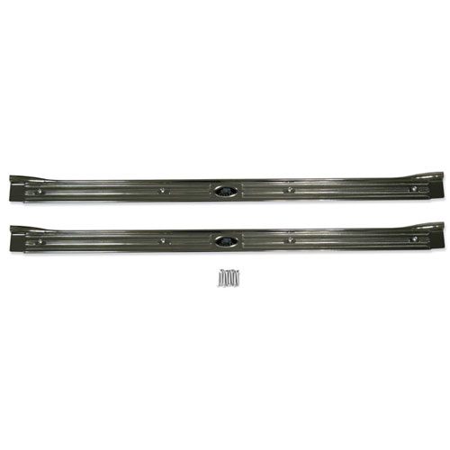1967-1969 Sill Plate Kit Reproduction with Rivets