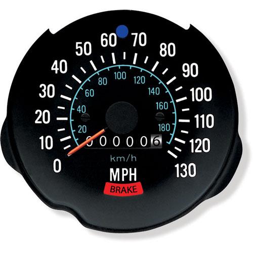 1970-1978 Camaro Speedometer 130 MPH