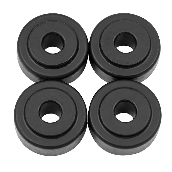 1964-1987 El Camino Poly Graphite Upper Shock Bushing Kit Black: 9-8101G