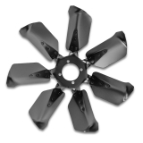 1962-1968 Nova Curved 7 Blade Cooling Fan for Short Water Pump