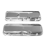1962-1979 Nova Big Block Chrome Valve Covers Without Drippers