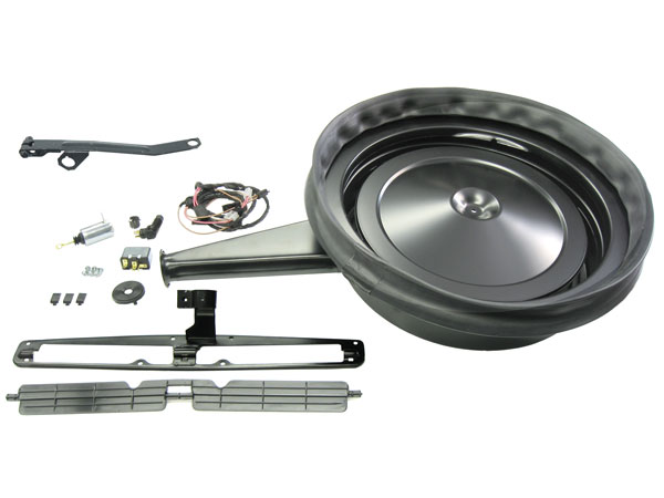 1967 1969 Camaro Cowl Induction Kit For Z 28