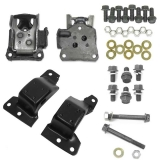 1969 Camaro 302 Or 350 OEM Engine Mount Kit