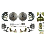 1964-1972 Chevelle Front Disc Brake Conversion Kit, 9 Inch Booster