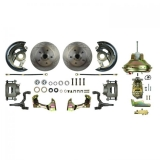 1967-1972 Chevelle Front Disc Brake Conversion Kit, 11 Inch Booster